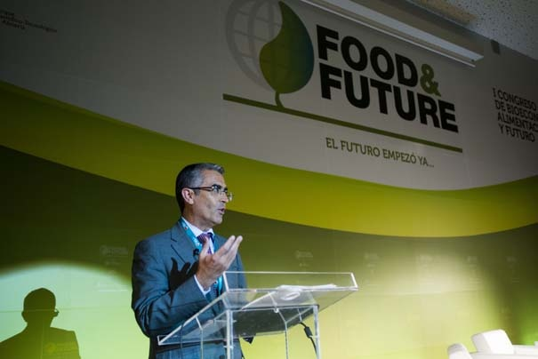 Acto de clausura Food & Future Roberto García Torrente