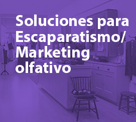 Soluciones para Escaparatismo / Marketing olfativo